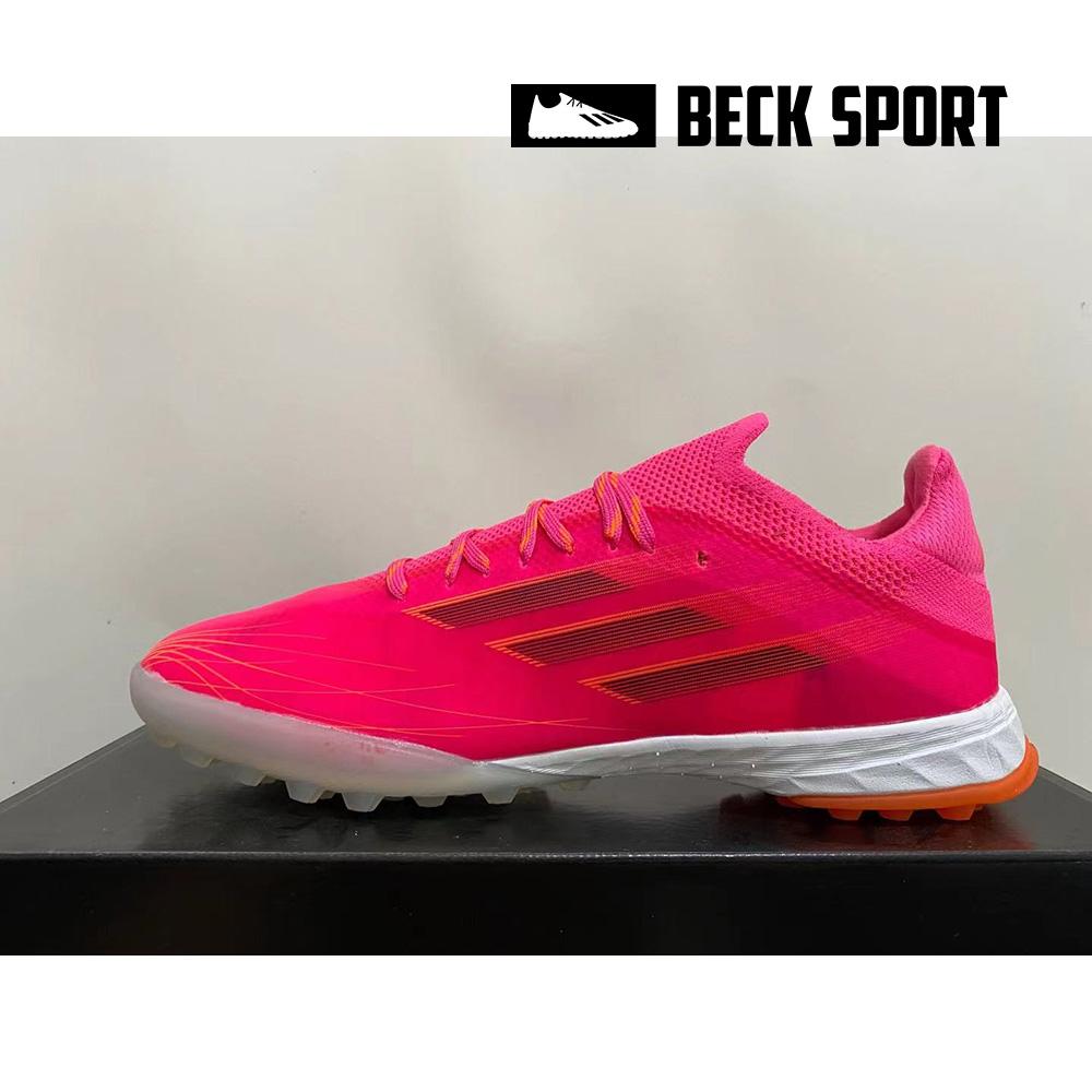 Giày Bóng Đá Adidas X Speedflow.1 Hồng Vạch Đen HQ TF