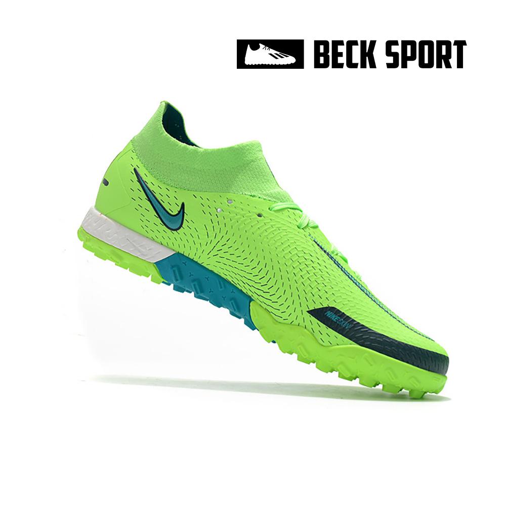 Giày Bóng Đá Nike Phantom GT Elite EURO Xanh Lá Cổ Cao V2 TF