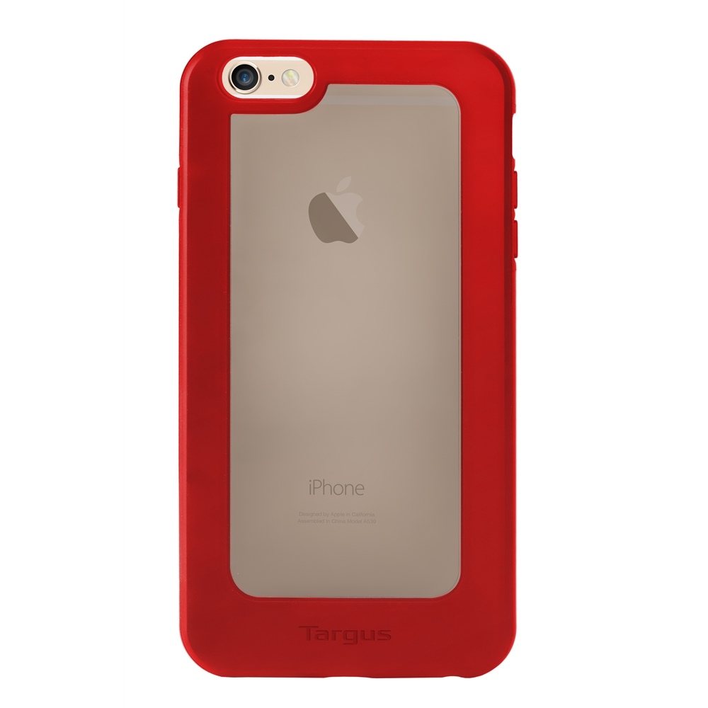 Targus ClearVu® case for iPhone® 6 Plus (Red) TFD13303AP