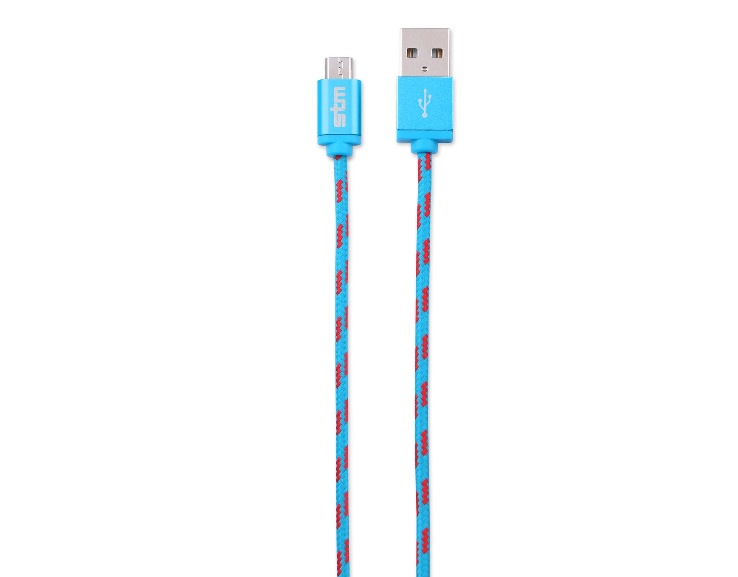 STM Elite Cable, Braided Micro USB Cable (1m) - Blue (stm-931-099Z-20)