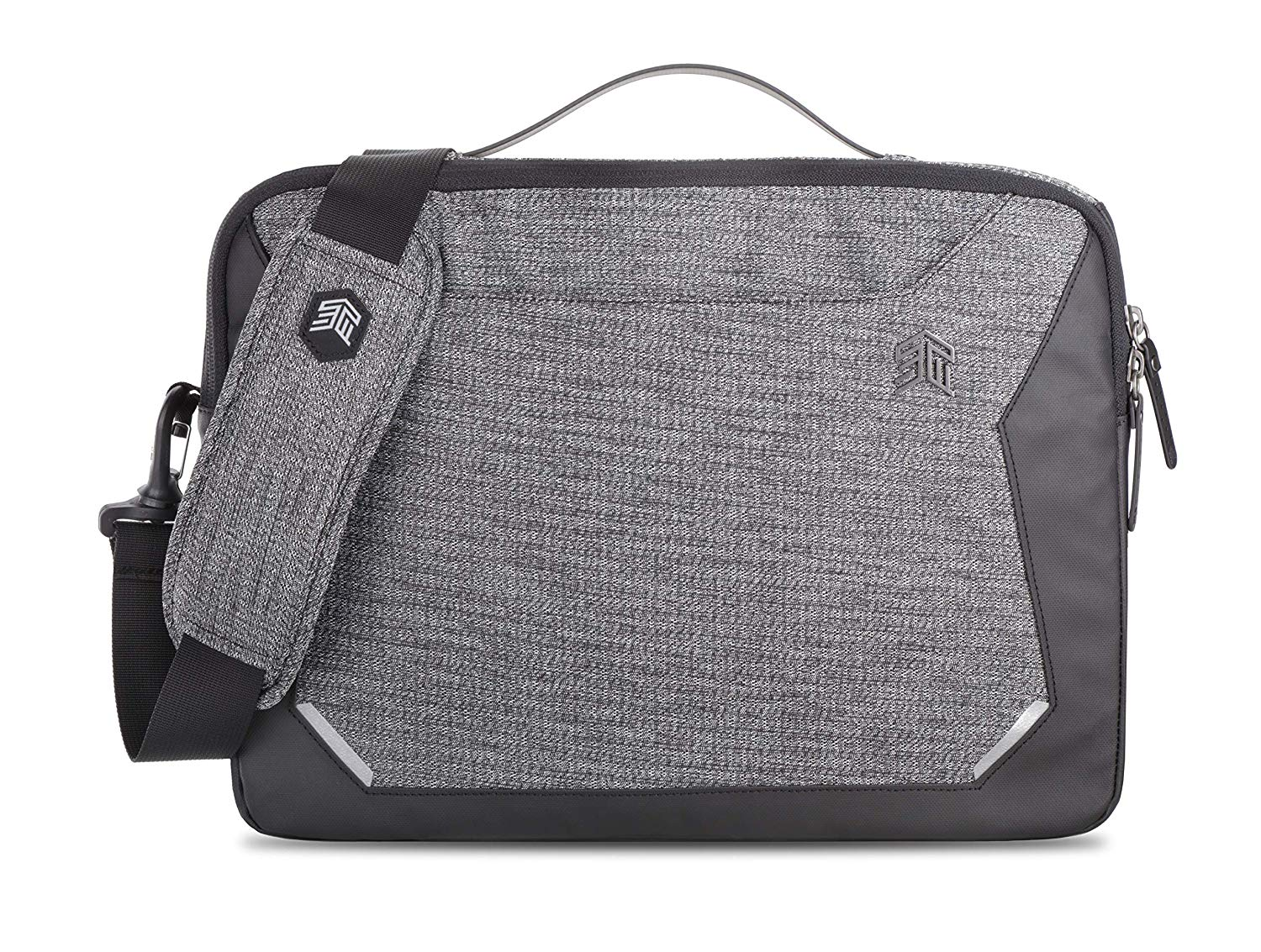 STM Myth Fleece-Lined Brief Case with Removable Strap for 15