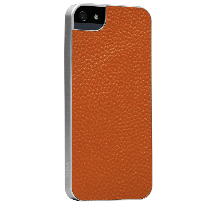 Targus Ultra Thin Snap-On iphone case(Orange/Silver frame) TFD07108AP-50