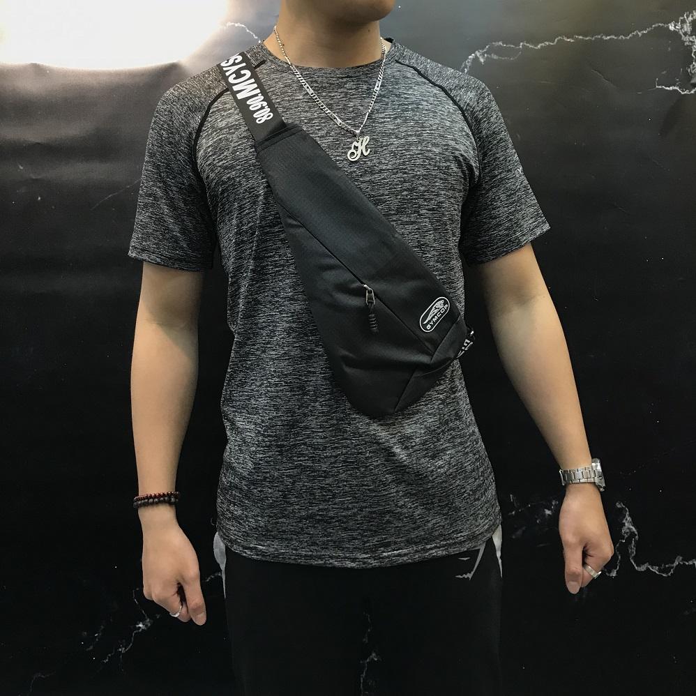 Túi dù đeo chéo dây chữ