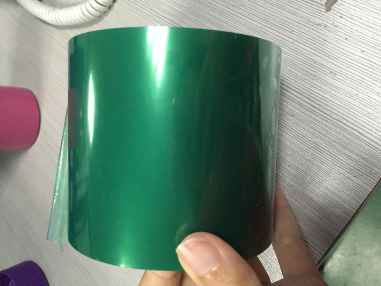 Băng dính chịu nhiệt Silicone màu xanh