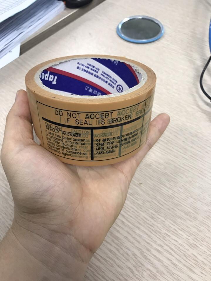 Băng dính đóng thùng in logo