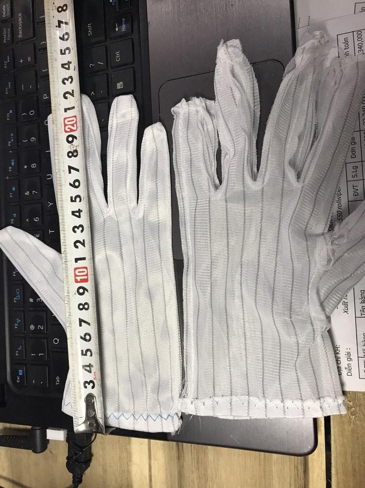 Găng tay kẻ sọc chống tĩnh điện