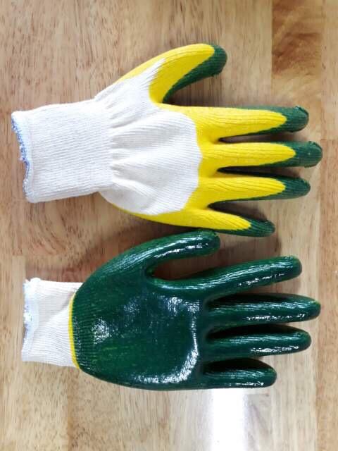 Găng tay phủ sơn hai lớp