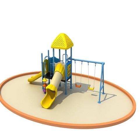 bộ vận động thang leo cầu trượt