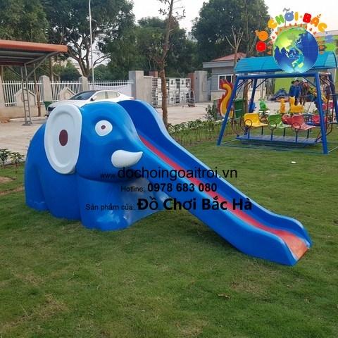Mô hình cầu trượt con voi - A802
