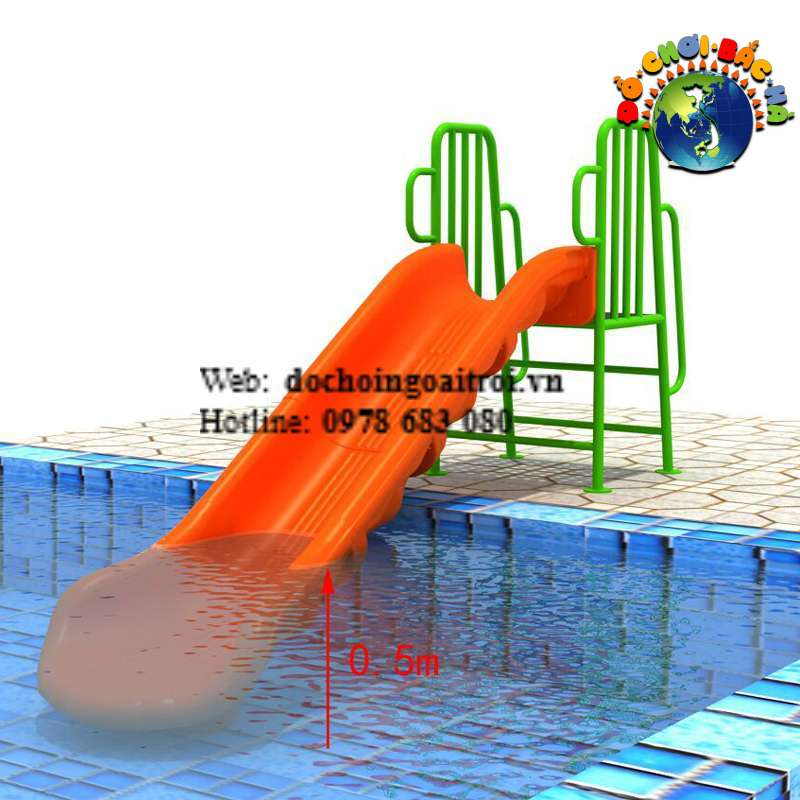 Cầu trượt bể bơi số 15