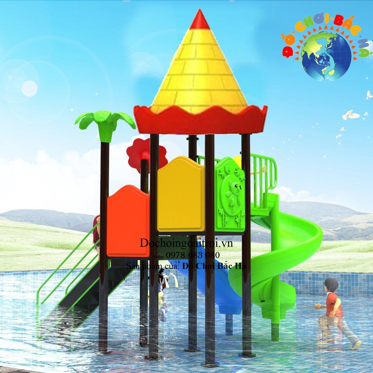 Cầu trượt bể bơi cho trẻ em số 3