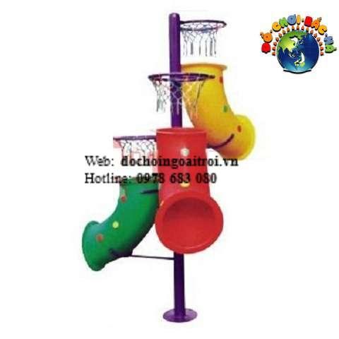 trụ bóng rổ 3 ống