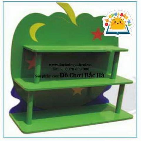 Giá đựng đồ chơi quả táo