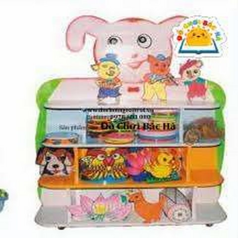 giá để đồ chơi hình con thỏ