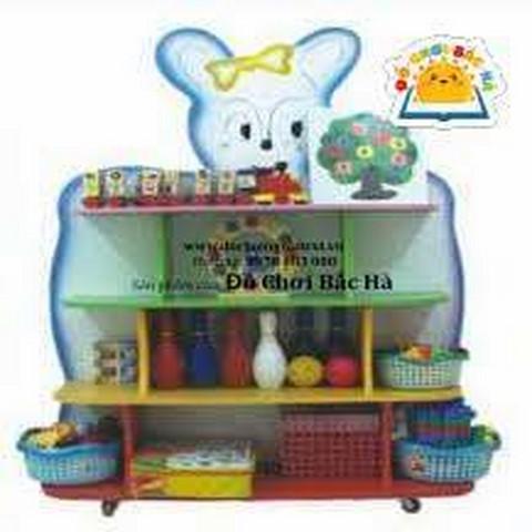 giá đồ chơi hình con thỏ