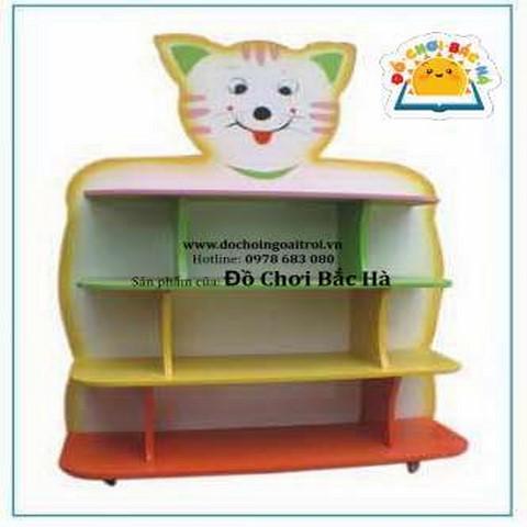 giá đồ chơi hình con mèo