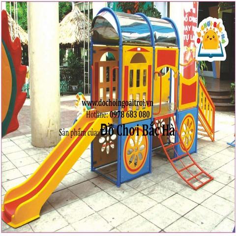 mô hình nhà chơi tàu hỏa