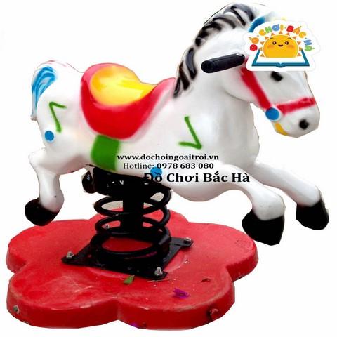 thú nhún lò xo hình ngựa