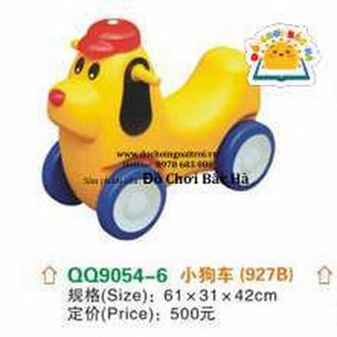 xe chòi chân con chó