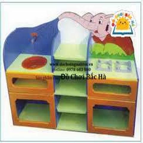 tủ bếp mầm non hình con voi