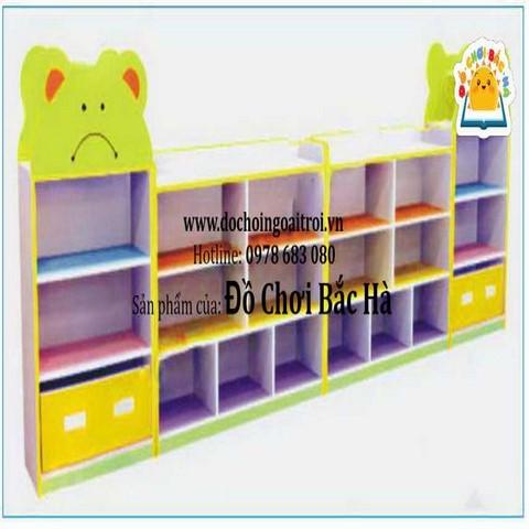 Tủ đồ chơi 3 khối đầu gấu