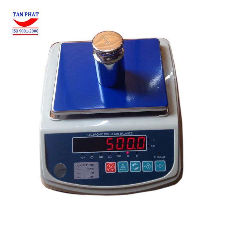 Cân điện tử KD-TBED 3000g