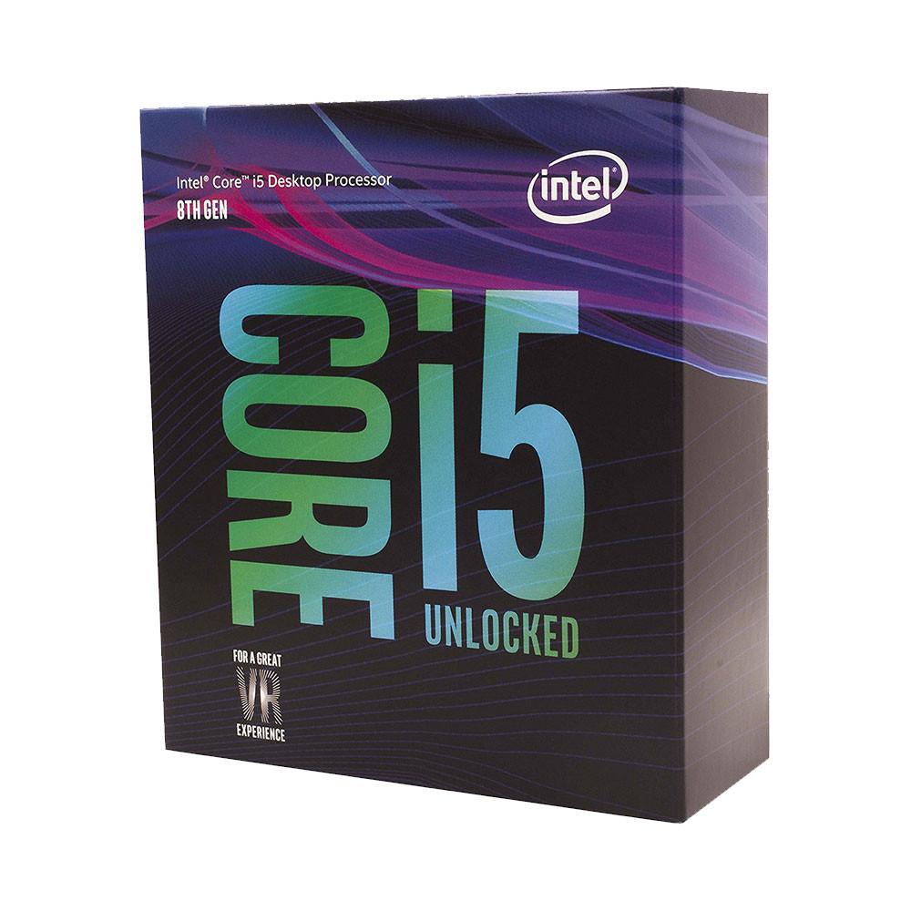 CPU Intel Core i5 8600K 3.6Ghz Turbo Up to 4.3Ghz / 9MB / 6 Cores, 6 T – Công Ty Máy Tính Hoàng Vỹ
