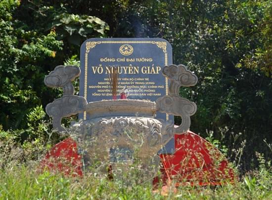 mộ đại tướng Võ Nguyên Giáp