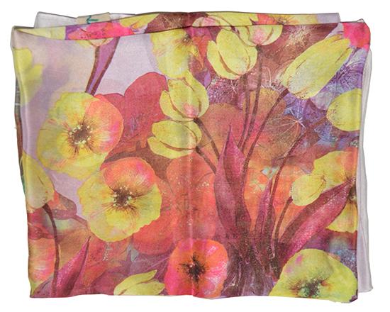 Khăn lụa KL422 cao cấp khăn quàng cổ nữ g