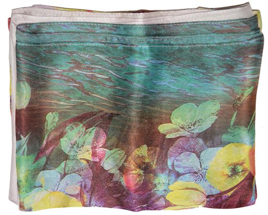 Khăn lụa KL422 cao cấp khăn quàng cổ nữ ga
