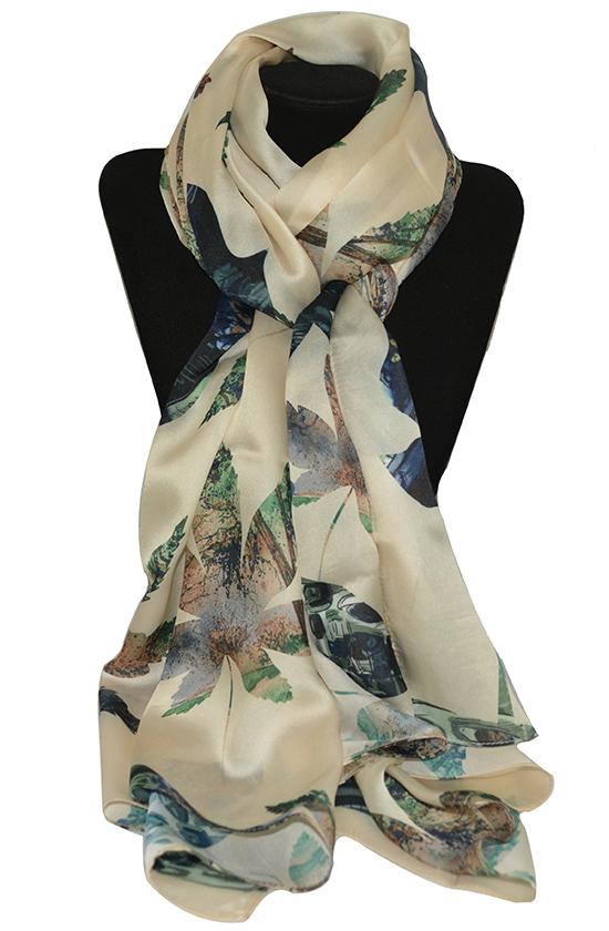 Khăn lụa-khăn quàng cổ nữ đẹp KL444