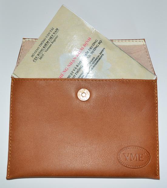 Túi đựng giấy tờ ô tô wk032