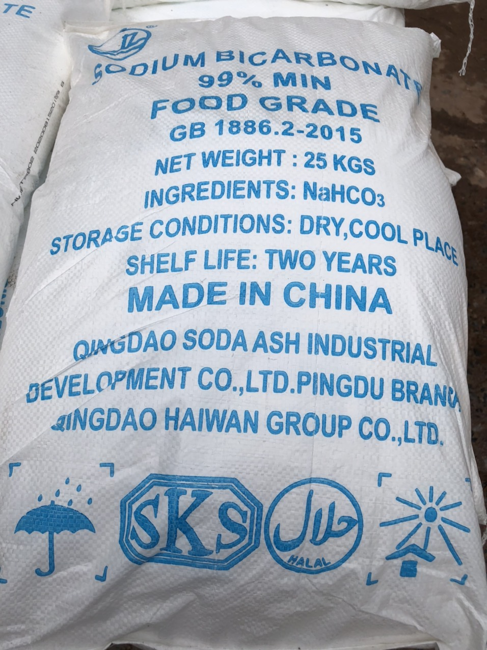 Sodium Bicarbonate 99% - Food Grate