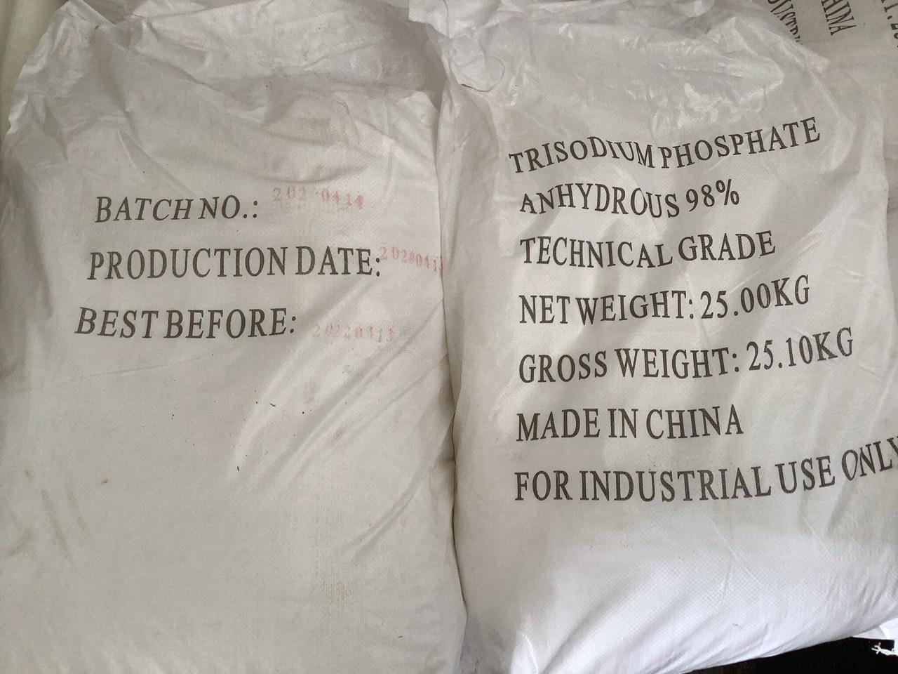 Trisodium Phosphate Anhydrous 98% - Na3PO4