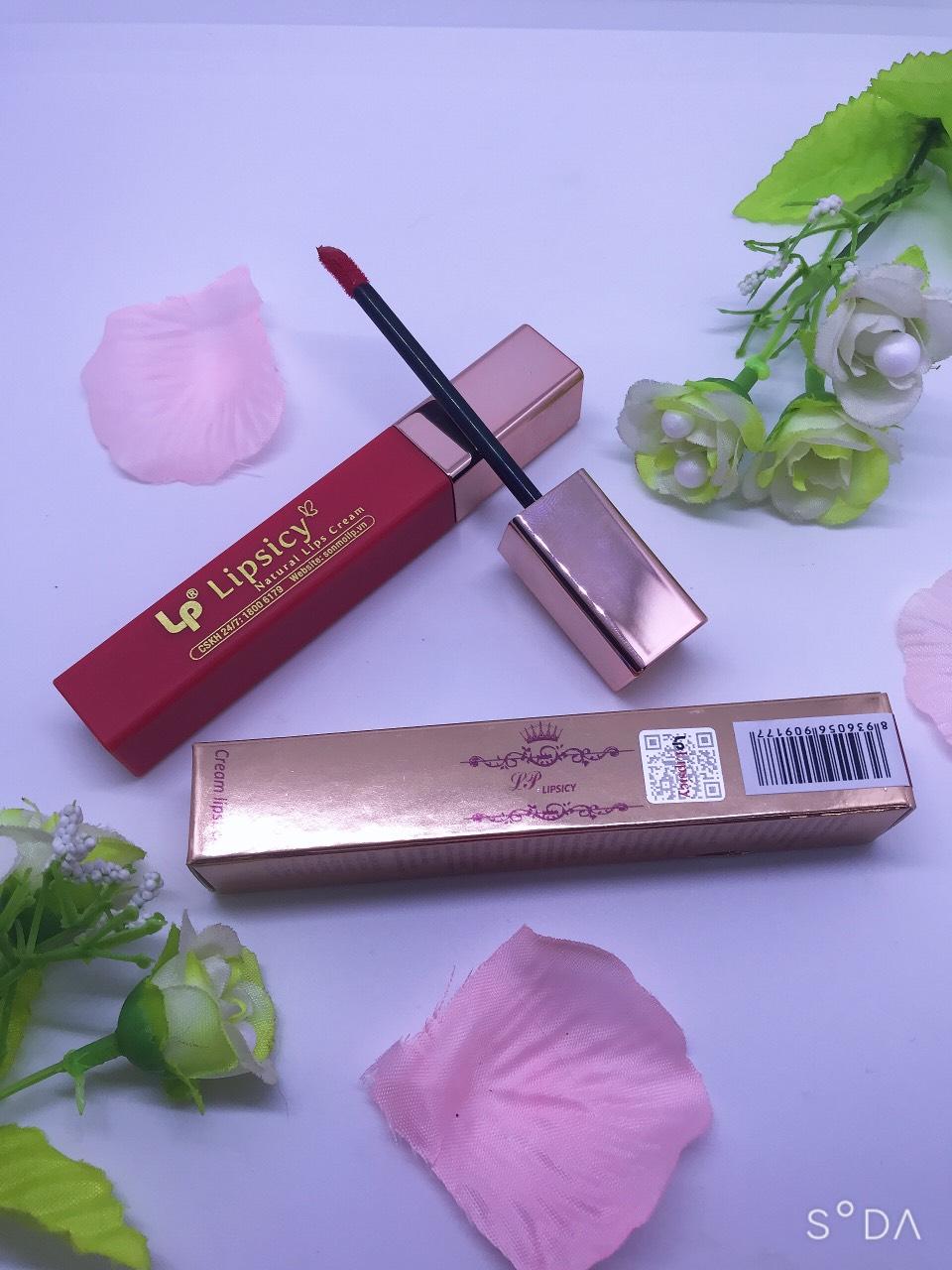 Cream Lipstick LP Lips Icy - Đỏ cam
