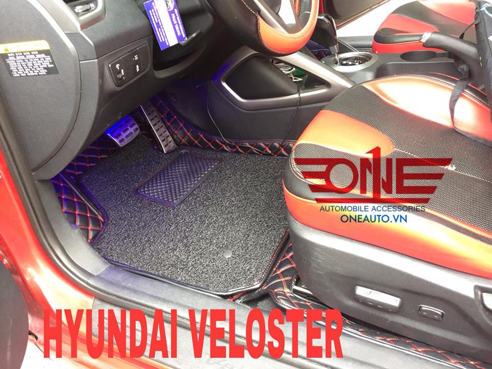 Một số hình ảnh thực tế của thảm lót sàn ô tô 6D cao cấp