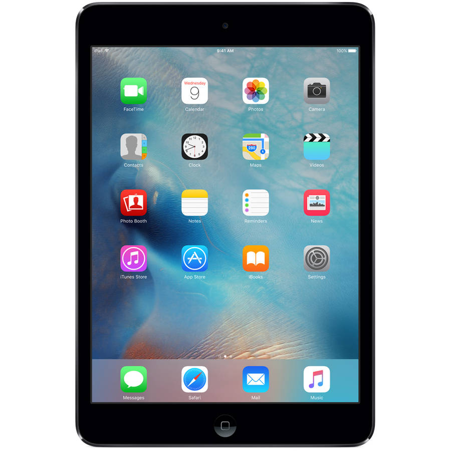 iPad Mini 4 16G Retina Đen 4G