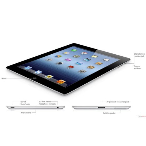 Ipad 3 Đen 64GB 4G