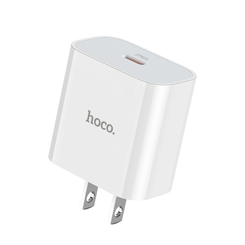 Củ sạc 20W PD 3.0/2.0, QC.3.0 Hoco C76 3A iPhone/iPad