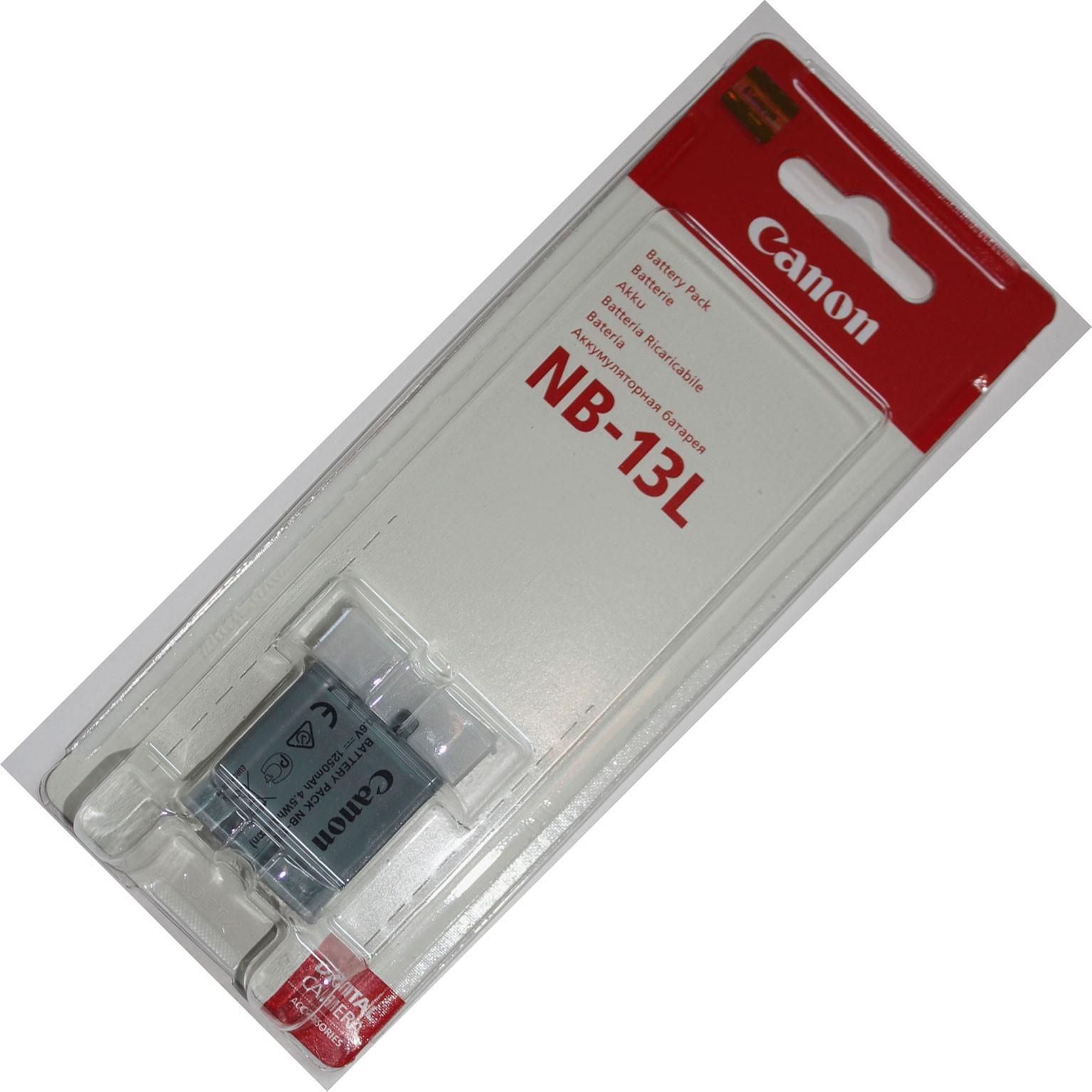 Pin Canon NB-13L