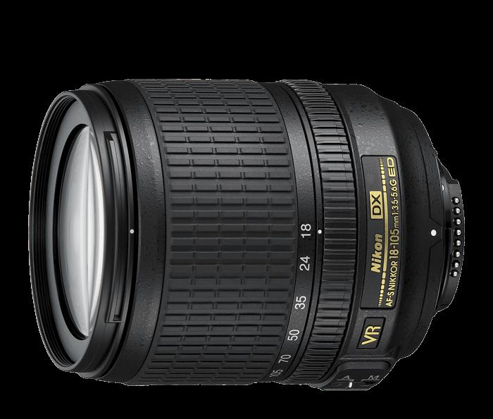 lens nikon AF S DX 18-105mm f3.5-5.6G ED VR