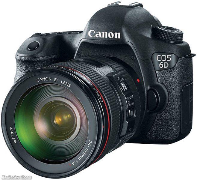 Canon EOS 6D kit 24-105mm f3.5-5.6 IS STM (Hàng chính hãng LBM- Mới 100%)
