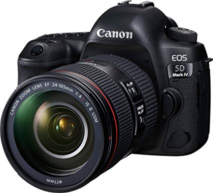 Canon EOS 5D Mark IV kit 24-105mm F/4L IS II USM (Mới 100%)