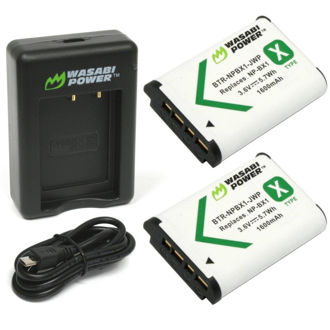 Bộ pin sạc NP-BX1 WASABI