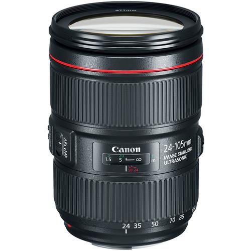 Canon EF 24-105mm F/4 L IS II USM (Mới 100%)