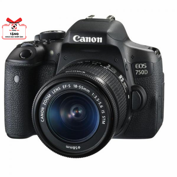 Canon EOS 750D với ống kính 18-55mm STM - Lê Bảo Minh