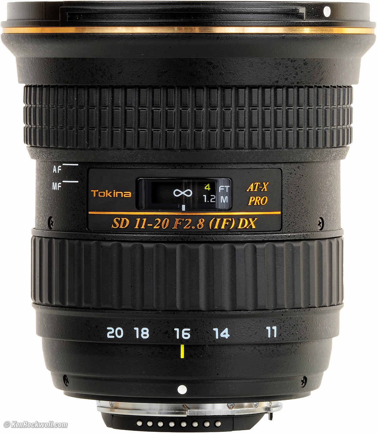 TOKINA LENS 11-20 F/2.8 AT-X Fro DX