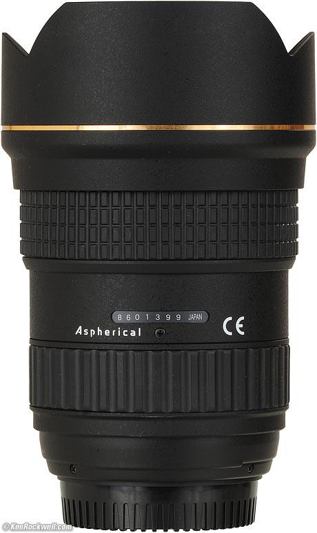 TOKINA AT-X16-28 F/2.8 Pro FX