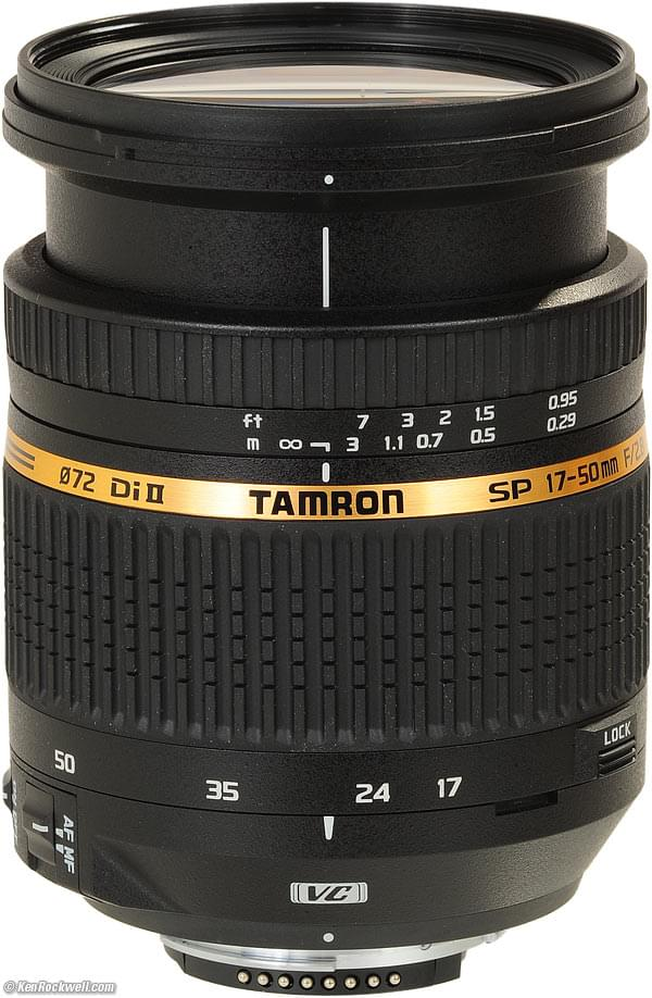 Tamron 17-50mm f/2.8 VC XR Di II LD Aspherical IF