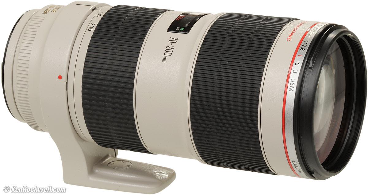 Canon EF 70-200mm F/2.8L IS II USM (Mới 100%)